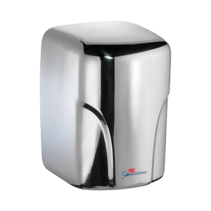 10-0197-2-92 ASI JD MacDonald Turbo-Dri Hand Dryer Polished Stainless Steel