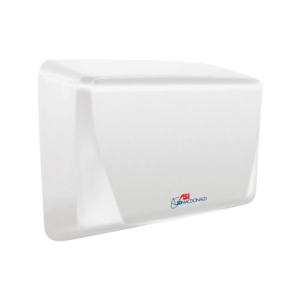 10-0199-2-00 ASI JD MacDonald Turbo-Slim Hand Dryer White