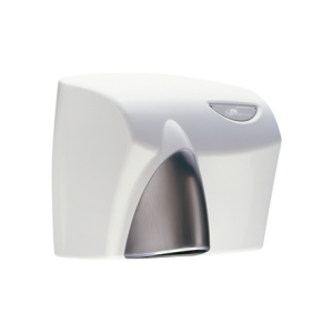 HDABWHTSC AUTOBEAM Automatic Hand Dryer - White with Satin Chrome Nozzle