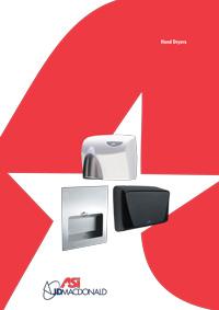 ASI JD MacDonald Hand Dryer Brochure