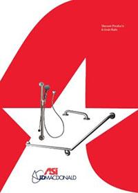 ASI JD MacDonald Shower Products & Grab Rails Brochure